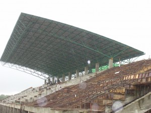Atap, Lengkung, Galvalum, Space Frame, Pipa, Stadion, Tribun, Bola Baja,