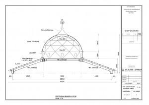 atap,konstruksi,baja,wf,masjid,bangunan,rangka,struktur,iwf,cnp