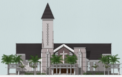 Perhitungan Konstruksi Baja Gedung Gereja Maranatha Ambon